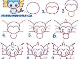 Drawing Cute Animals Step by Step How to Draw Cute Kawaii Chibi Vaporeon From Pokemon Easy Step by