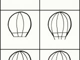 Drawing Cute Balloons Learn How to Draw A Cute Hot Air Balloon Step by Step A Very Simple