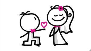 Drawing Cute Bride Couples Wedding Shower Clip Art Weddings Pinterest Wedding