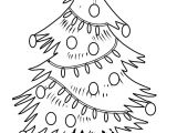 Drawing Cute Christmas Tree Free Christmas Tree Coloring Pages for the Kids