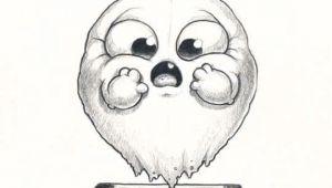 Drawing Cute Monsters Cute Art Chris Ryniak Morning Scribbles Cute and Funny Art