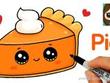 Drawing Cute Nutella How to Draw A Slice Of Pie Cute and Easy Art Completed In 2019
