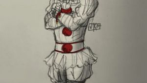 Drawing Cute Pennywise Oh Yes U are My Lil Handsome Clown Pennywise the Dancing Clown