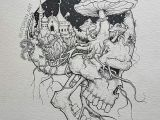 Drawing Dark Things I Love Badass Art Stuff where We Journey Into the Artist S