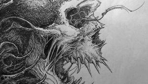 Drawing Demon Skull Evil Skull Drawing Drawing Ideas Pinterest Skull Art Drawings