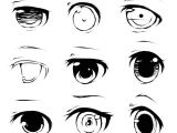 Drawing Different Eye Expressions Different Anime Eyes Google Search Drawing Pinterest