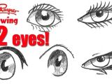 Drawing Different Eye Shapes How to Draw 72 Eyes In Different Styles Youtube