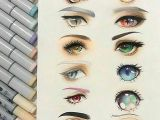 Drawing Different Eye Styles Eye Shapes and Colors the First Thing I thought Was Wow that