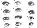Drawing Different Eyes 303 Best Drawing Eyes Images Drawing Faces Drawing Techniques
