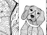 Drawing Dog Colour Zentangle Dog Colouring Page Animal Colouring Zentangle Coloring