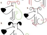 Drawing Dog with Shapes Big Guide to Drawing Cartoon Dogs Puppies with Basic Shapes for