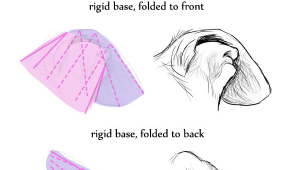 Drawing Dogs Ears How to Draw Dog Ears Like An Artist Art Ed Central Drawing Dogs