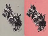 Drawing Dogs Playing Poker Swap Cards Dogs by Lial 1 Vintage Playing Cards Pinterest