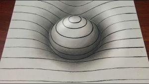 Drawing Easy 3d Sphere with Lines Drawing Easy 3d Sphere with Lines Youtube Op Art Pinterest