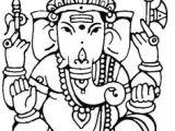 Drawing Easy Ganpati 115 Best Ganpati Images In 2019 Indian Contemporary Art Lord