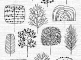 Drawing Easy Leaves Ideas for Line Drawing Trees Tattoos Draw Doodles Art