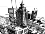 Drawing Eye Level Perspective A Step by Step Tutorial On the Basics Of Three Point Perspective