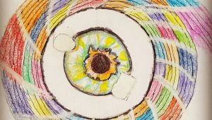 Drawing Eye Of the Storm Eye Of the Storm Little Abstract Art Art Drawings Pinterest