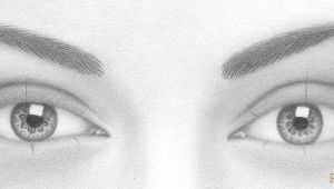 Drawing Eye Placement How to Draw A Pair Of Realistic Eyes Rapidfireart