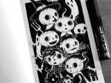 Drawing Eye Skull Instagram Photo by Behemot Behemot Crta Stvari Halloween