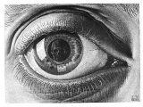 Drawing Eye Skull Maurits Cornelis Escher Das Auge 55 Art Design Inspiration