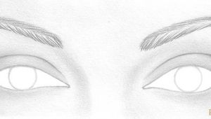 Drawing Eyes at An Angle How to Draw A Pair Of Realistic Eyes Rapidfireart