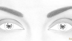 Drawing Eyes Beginners How to Draw A Pair Of Realistic Eyes Rapidfireart