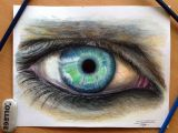 Drawing Eyes Colored Pencil Eye Color Pencil Drawing by atomiccircus On Deviantart In Your