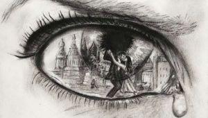 Drawing Eyes Emotion Pin by Rachel Stevens On Red and Black Drawings Art Art Drawings