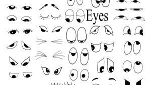 Drawing Eyes for Cartoons Drawing Helps for Eyes Mouths Faces and More Party Matthew