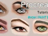Drawing Eyes On Procreate 243 Best Drawing W Ipad Images In 2019 Art Lessons Art Tutorials
