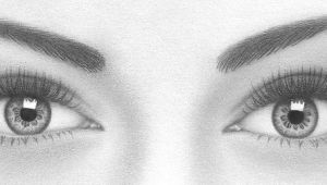 Drawing Eyes On Your Eyelids How to Draw A Pair Of Realistic Eyes Rapidfireart