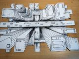 Drawing Eyes Perspective How to Draw One Point Perspective 3d Illusion High Rise