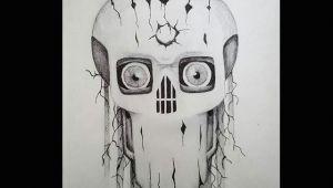 Drawing Eyes Skull Surrealist Eye Demon Drawings Artsy Pendrawing Illustration