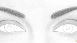 Drawing Eyes Step by Step Easy How to Draw A Pair Of Realistic Eyes Rapidfireart
