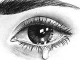 Drawing Eyes Tears It S My 11th Drawing I Still Not Satisfied Eye Eyes Draw
