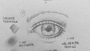 Drawing Eyes that Follow You How to Draw An Eye 25 Best Tutorials to Follow Art Pinterest