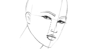 Drawing Eyes Three Quarter View Drawing How to Draw the Three Quarter View Fashion Finishing