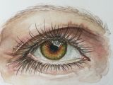 Drawing Eyes Watercolor A Personal Favorite From My Etsy Shop Https Www Etsy Com Listing
