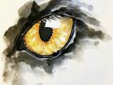 Drawing Eyes Watercolor Art Inspiring Magic Watercolorarts Splash the World with A Lil