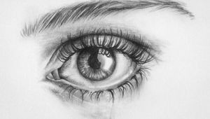 Drawing Eyes with Tears Crying Eye Drawing Art Drawings Art Drawings Pencil Drawings