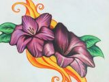 Drawing Flowers In Colored Pencil Color Pencil Drawings Pencil Drawings Drawings Colored Pencils