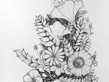 Drawing Flowers In Pen and Ink 1412 Nejlepa A Ch Obrazka Z Nasta Nky Flower Drawings Drawings