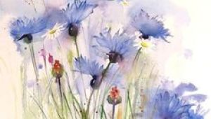 Drawing Flowers In Watercolor 700 Best Art Watercolor Flowers Images Flower Watercolor