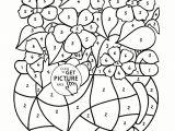 Drawing Flowers Kindergarten Printable Flower Worksheets Www tollebild Com