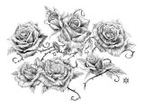 Drawing Flowers On A Vine Image Result for Vine and Thorns Drawings Deck Of Cards Tattoos