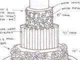 Drawing Flowers On Cake 31 Best Wedding Cake Sketches Images Cake Sketch Wedding Cake