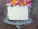 Drawing Flowers On Cake Mutfak Crafts and Painting Pinterest Painting Art and Art