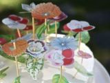 Drawing Flowers On Cake Vellum Flower Cake Diy Crafts Pinterest Cake Flower and Free