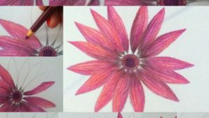 Drawing Flowers On Canvas Drawing Flowers Canvas Drawings Art Drawings Art